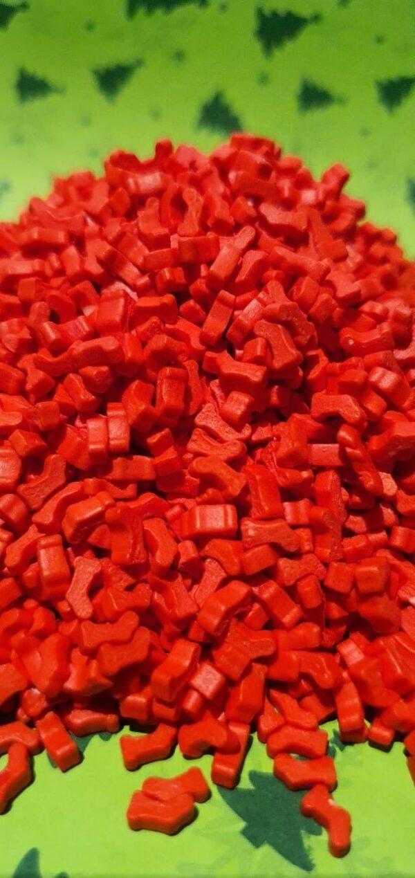 Botas de Navidad Rojas