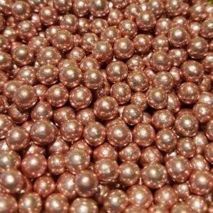 Perla Metalizada Rosada 4mm